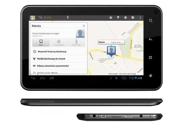 Tabletowo.pl Manta prezentuje: PowerTab MID11 3G i PowerTab MID12 GPS Nowości