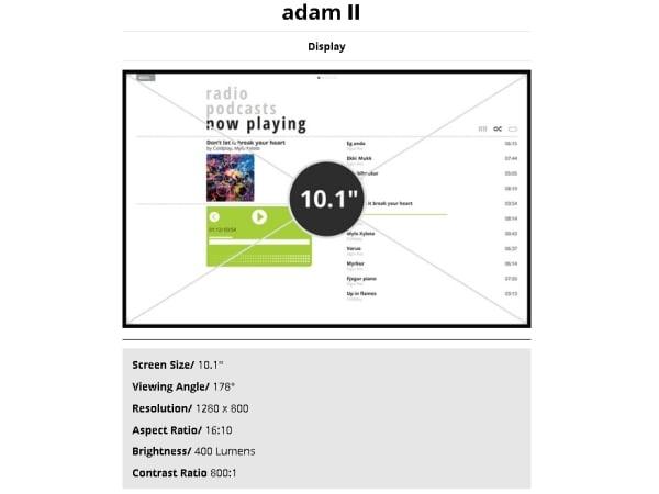 tablet notion ink adam 2