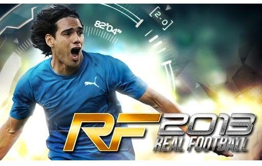 Tabletowo.pl Real Football 2013 debiutuje w Google Play Aplikacje Nowości