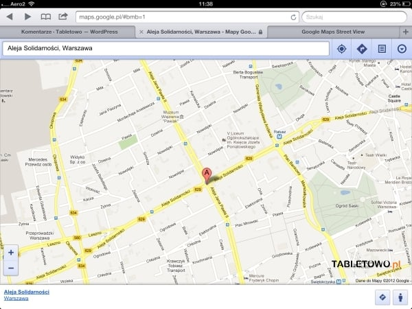 Google Maps Street View iOS