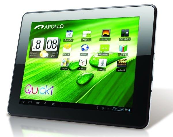 Tabletowo.pl Apollo prezentuje kolejne tablety z serii Quicki: 728, 801, 811 i 1041 Nowości