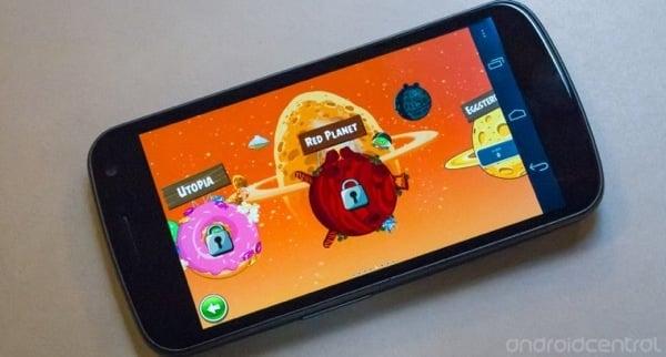 Tabletowo.pl Angry Birds Space z 10 nowymi planszami Aplikacje Nowości