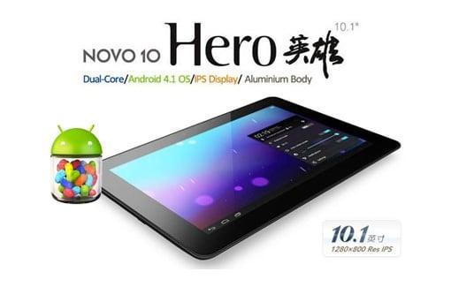Tabletowo.pl Ainol Novo 10 Hero dostępny za 839 złotych Nowości