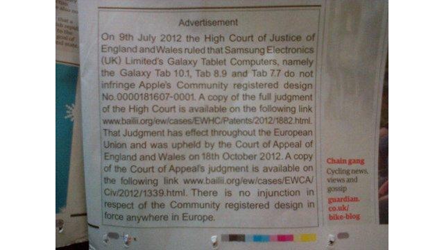 Tabletowo.pl Apple musi pokryć koszty rozprawy z Samsungiem Apple Samsung