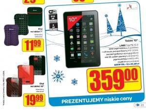 Tabletowe promocje: cz.1 - markety