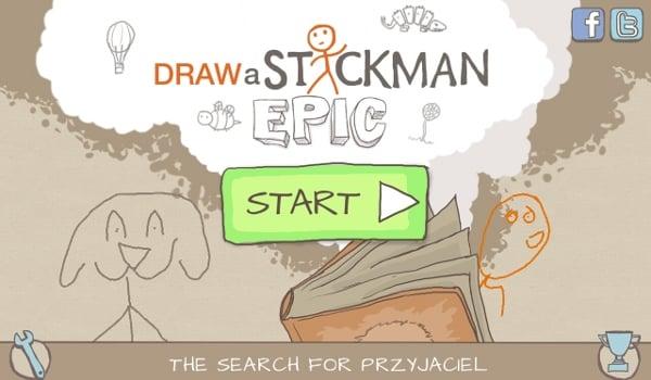 Tabletowo.pl Draw a Stickman:EPIC – ciekawa zabawa w niskiej cenie Aplikacje Nowości