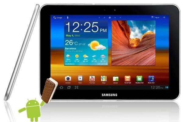 Tabletowo.pl Samsung aktualizuje Galaxy Tab 8.9 do Androida 4.0 ICS Nowości Samsung