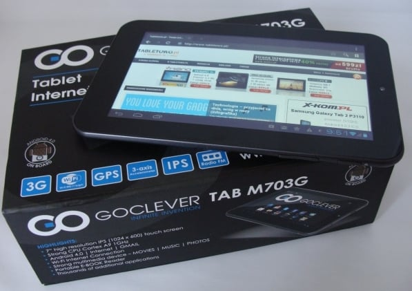 recenzja goclever tab m703g