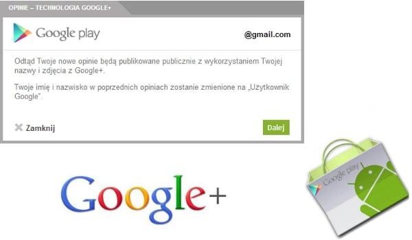 Tabletowo.pl Komentowanie w Google Play tylko z konta Google+ Ciekawostki Nowości