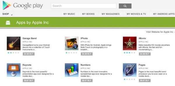Tabletowo.pl Aplikacje Apple: iMovie, iPhoto, GarageBand i iWork na Androida? Coś tu nie gra Aplikacje Nowości