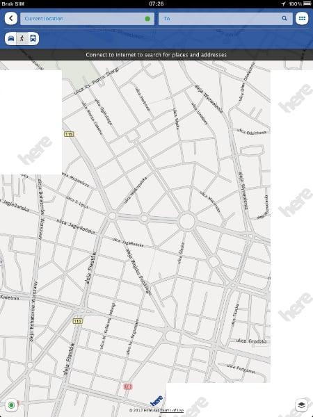 """Tabletowo.pl """"Here"""" od Nokii już dostępne w App Store Aplikacje"""