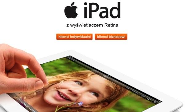 Tabletowo.pl Orange wprowadza do oferty iPada 4. iPad mini na dniach Apple Nowości