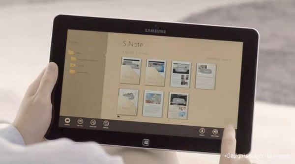 Tabletowo.pl S Note na tablecie Samsung Ativ Smart PC (wideo) Aplikacje Nowości Samsung