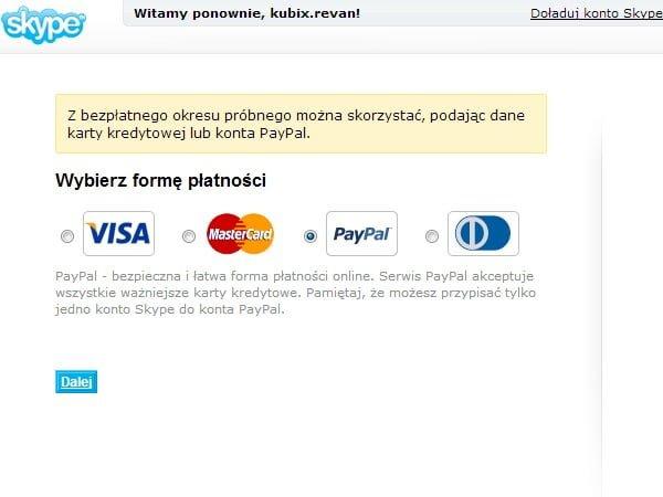 Tabletowo.pl Darmowy miesiąc ze Skype Aplikacje Nowości