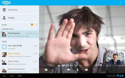 Tabletowo.pl Skype na Androida doczekał się istotnych modyfikacji Aplikacje Nowości