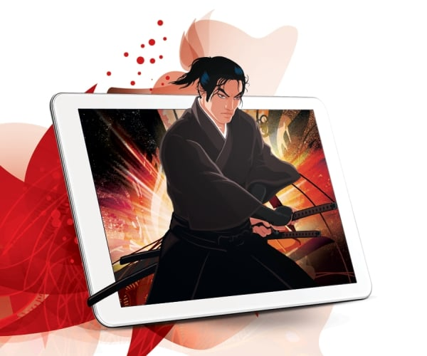 tablet shiru shogun power