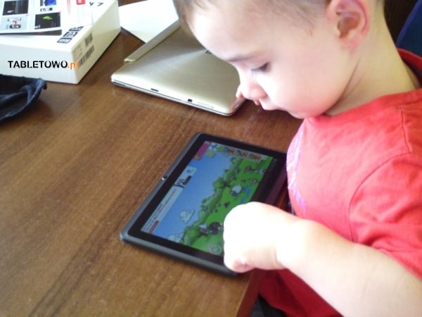 Shiru Hitomi 7  jako tablet dla dziecka