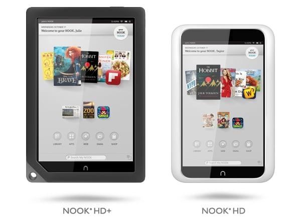 Tabletowo.pl Tablety Nook HD i Nook HD+ firmy Barnes & Noble już w sprzedaży Nowości