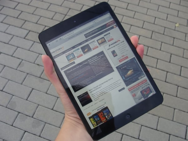 apple ipad mini recenzja test