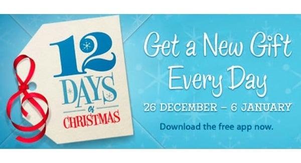 Tabletowo.pl Apple zapowiada świąteczną promocję: 12 Days of Christmas Aplikacje Apple Nowości