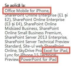 Tabletowo.pl Microsoft Office na iOS coraz bliżej? Microsoft Nowości Plotki / Przecieki