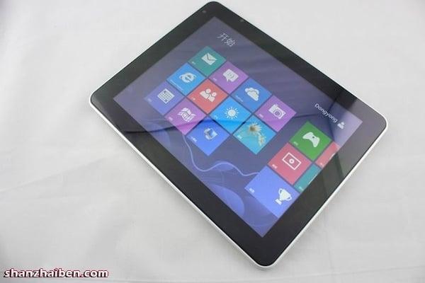 Tabletowo.pl 9,7-calowy F888: tablet z Windows 8 i Androidem 4.0 ICS Chińskie Ciekawostki