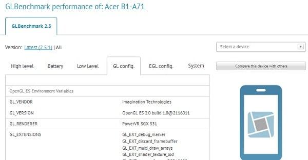 Tabletowo.pl Acer B1-A71 - budżetówka z Androidem Jelly Bean Acer Nowości