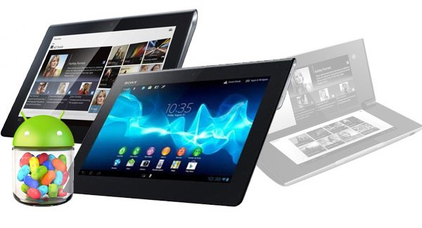 Tabletowo.pl Sony Tablet S dostanie Jelly Bean w lutym Nowości