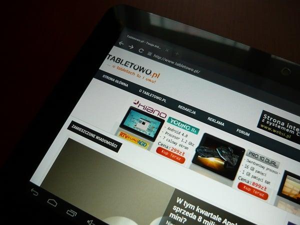 Tabletowo.pl Recenzja tabletu Window N101 2 Chińskie Nowości Recenzje