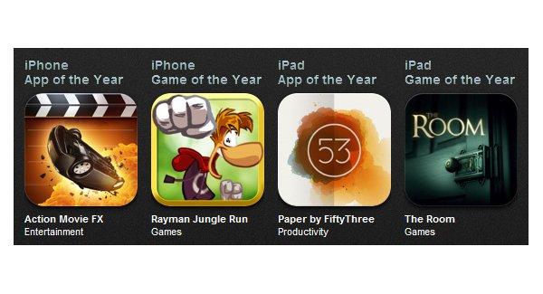 Tabletowo.pl Jakie aplikacje królowały w AppStore w 2012 roku? Aplikacje Nowości