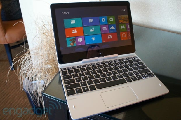 Tabletowo.pl HP prezentuje hybrydę EliteBook Revolve z 11,6-calowym ekranem i Windows 8 Nowości