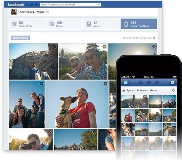 Tabletowo.pl Facebook zaktualizowany o Photo Sync Aplikacje Nowości Social Media