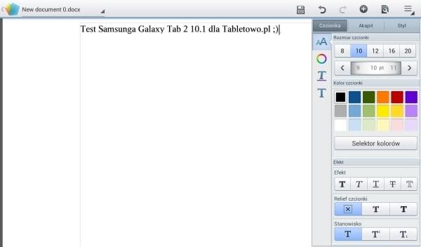 recenzja samsung galaxy tab 2 10.1