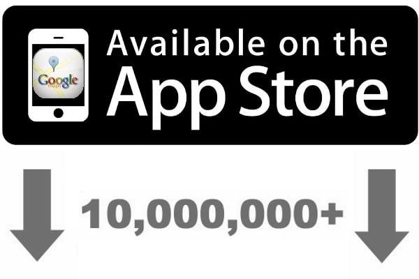 Tabletowo.pl Google Maps na iOS pobrane ponad 10 milionów razy w 2 dni Aplikacje Nowości
