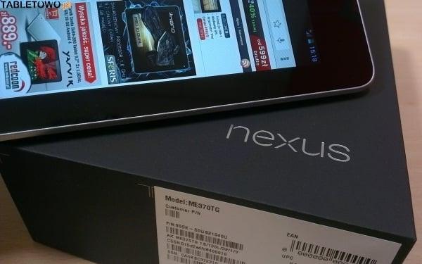 Google Nexus 7 3G 32 GB w ofercie sieci Play