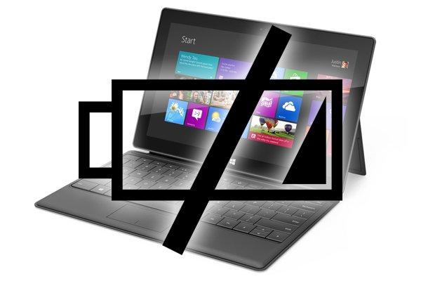 Tabletowo.pl Akumulator Microsoft Surface Pro starczy na 4,5 godziny pracy? Microsoft
