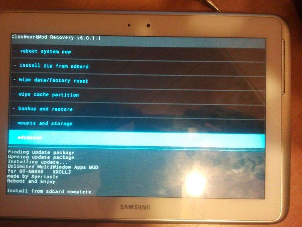 Tabletowo.pl MODujemy: MultiWindow na Samsungu Galaxy Note 10.1 Ciekawostki Nowości
