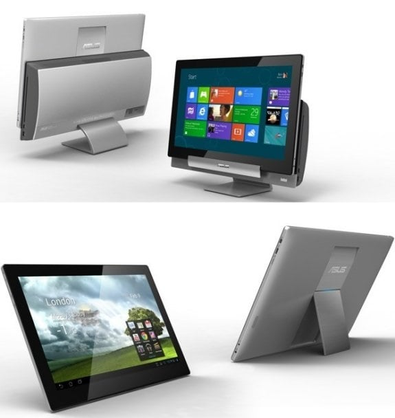 Tabletowo.pl Asus Transformer AiO P1801 z Androidem 4.1 JB i Windows 8 Asus Nowości