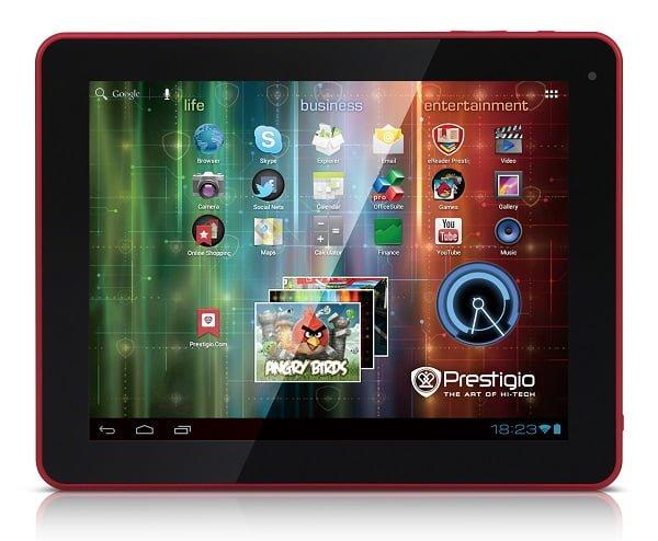 """Tabletowo.pl Prestigio MultiPad 9.7 Ultra Duo - 9,7"""" IPS, dwa rdzenie i Android 4.1 Jelly Bean Nowości"""