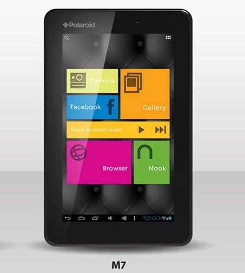 Tabletowo.pl Polaroid przedstawia dwa nowe tablety - M7 i M10 Nowości