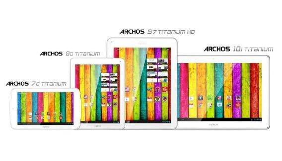 Tabletowo.pl Znamy ceny tabletów Archosa z serii Titanium: 70, 80, 97 i 101 Nowości