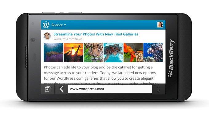 BlackBerry PlayBook dostanie aktualizację do BlackBerry 10