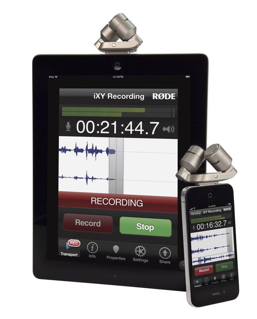 Tabletowo.pl RØDE iXY: profesjonalny mikrofon dla urządzeń firmy Apple Akcesoria Apple