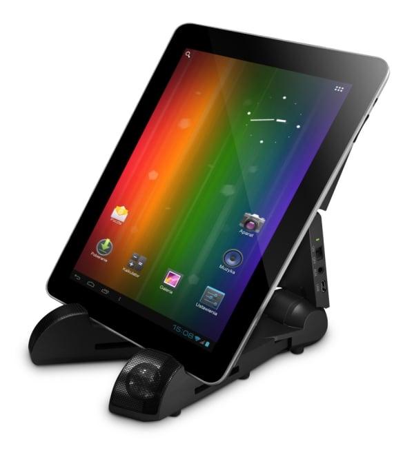 Tabletowo.pl Overmax prezentuje stojak do tabletów z głośnikami: OV-TS-03 Akcesoria Nowości