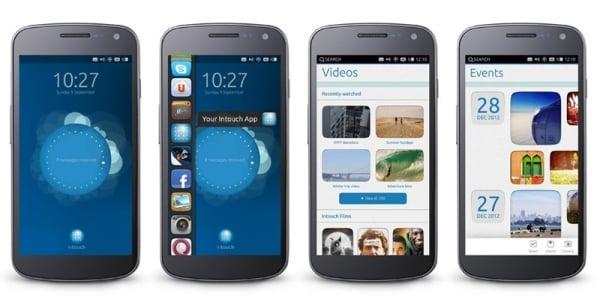 ubuntu na smartfony