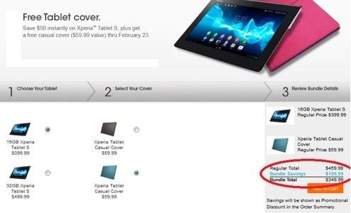 Tabletowo.pl Kupując Sony Xperia Tablet S z etui bezpośrednio od Sony, oszczędzasz 110 dolarów Ciekawostki Nowości Promocje