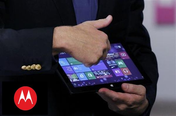 tablet motoroli z windows 8