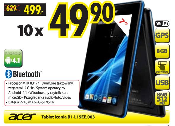 Tabletowo.pl Promocja: Acer Iconia B1 za 499 złotych Nowości Promocje