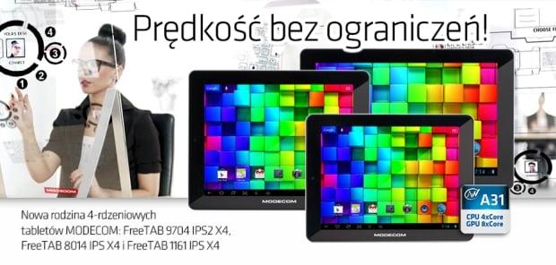 czterordzeniowe tablety modecom