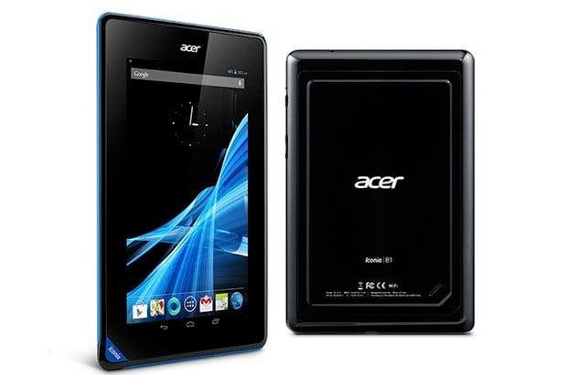 Acer Iconia B1 z 16GB pamięci już dostępny za 139 euro